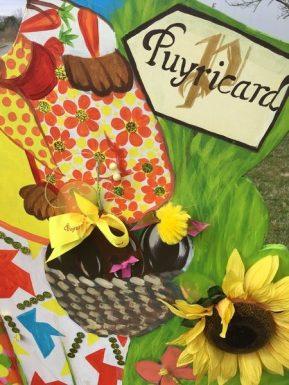 chasse aux oeufs à la chocolaterie de Puyricard
