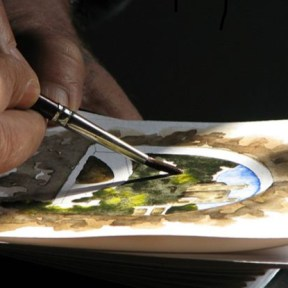 Escale Croquis aquarelle - Escale Patrimoine