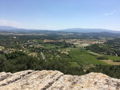Village de Gordes vue panoramique