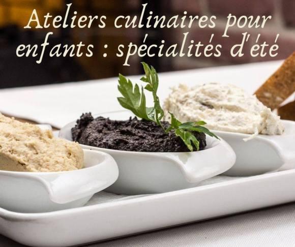 Escales Patrimoine Marignane ete 2019 Ateliers culinaires minots