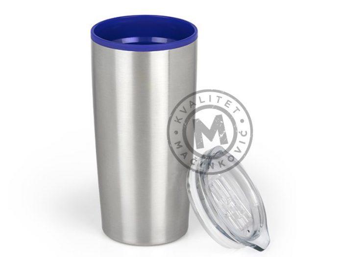 metal travel mug steel