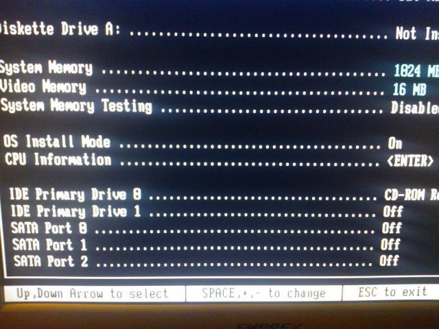 OS Install Mode