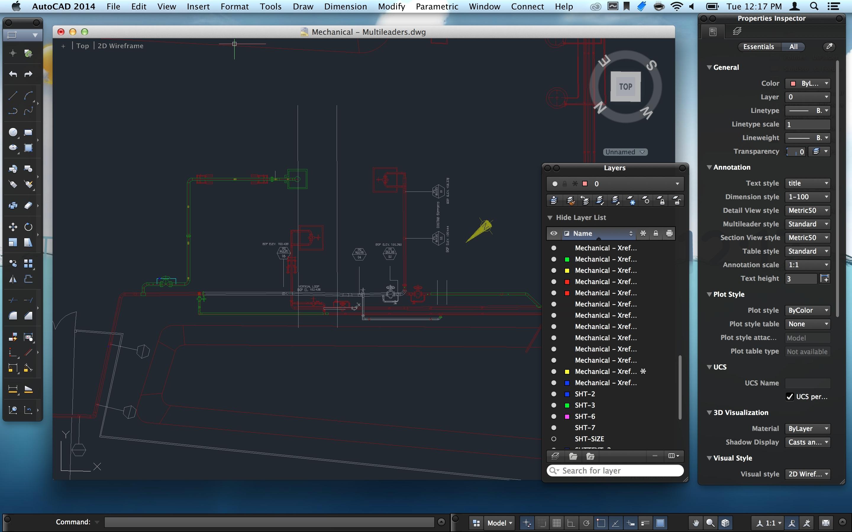 Autodesk. disponibili AutoCAD 2014 e AutoCAD LT 2014 per OS X - Macitynet.it