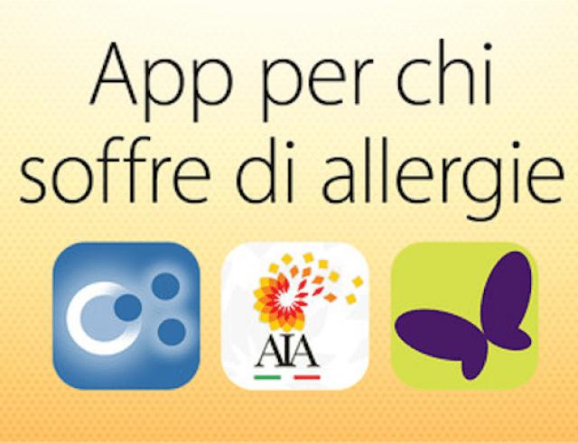 Le App per chi soffre di allergie