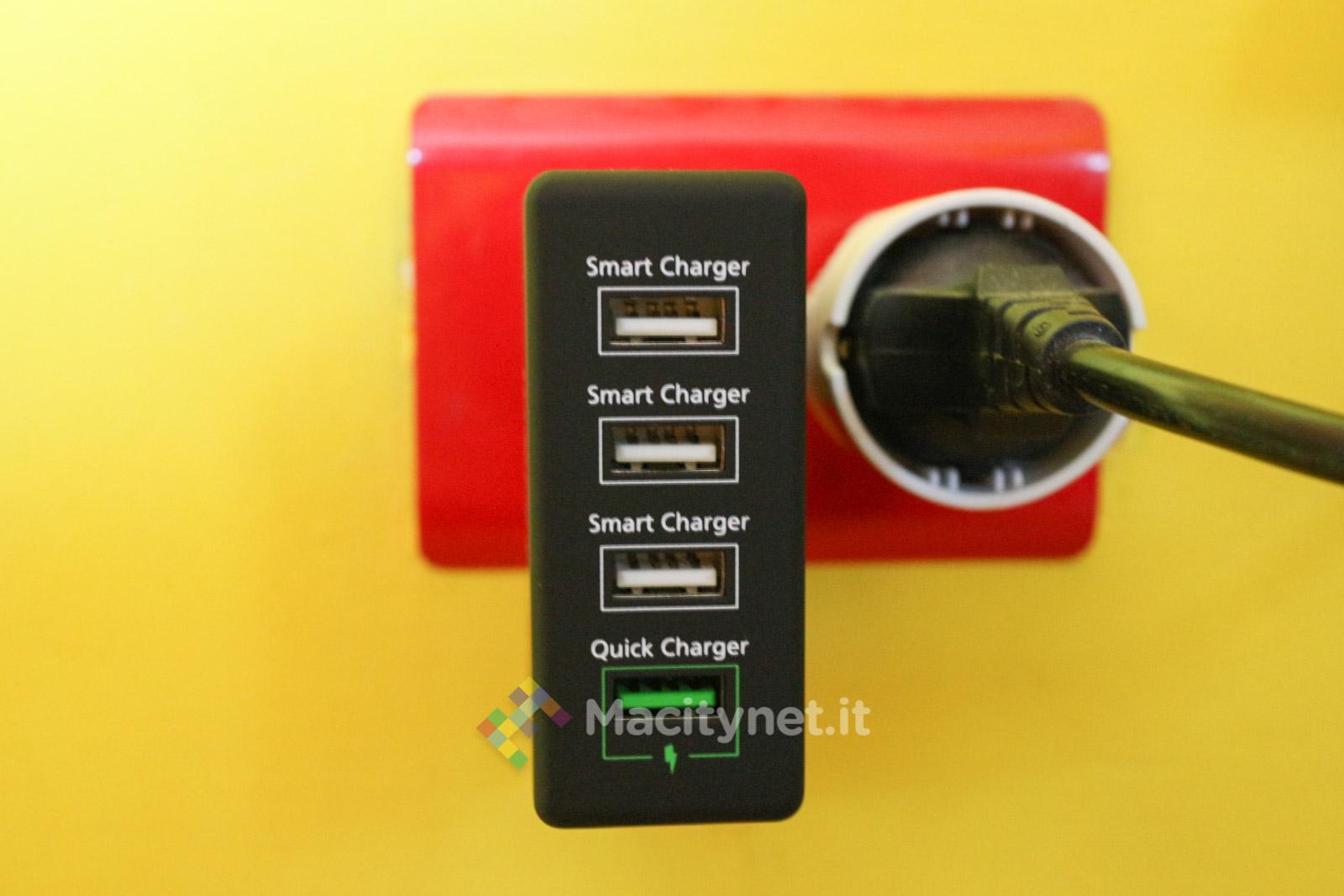 Yuri Di Prodo, Macitynet 2015 - IMG_3117 Inateck Quick Charge 4 USB