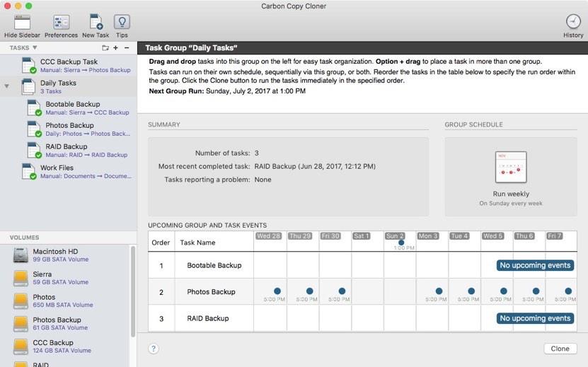 Carbon Copy Cloner 5 clona tutto, anche il nuovo file system APFS di Apple - Macitynet.it