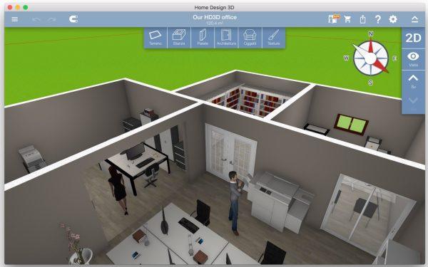 Home Design 3d Gold Progettare La Casa Dei Sogni Su Mac