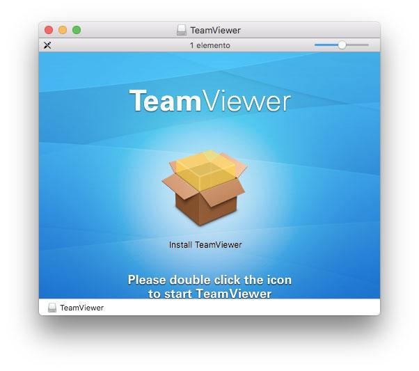 Installer di TeamViewer su Mac