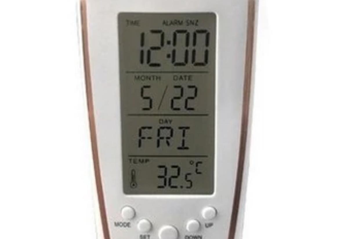 Sveglia digitale con retroilluminazione e termometro ambientale solo 3 euro  Macitynetit