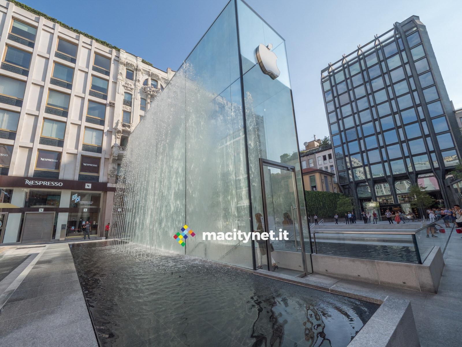 Apple Store Milano Piazza Liberty  bellissimo ecco le