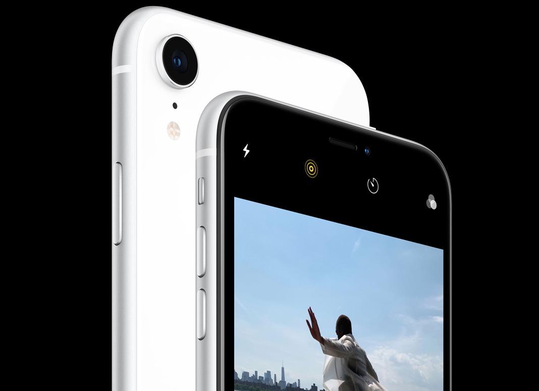 la fotocamera di iPhone XR