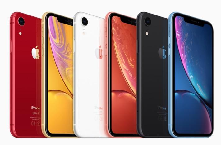 Tutto i colori di iPhone XR