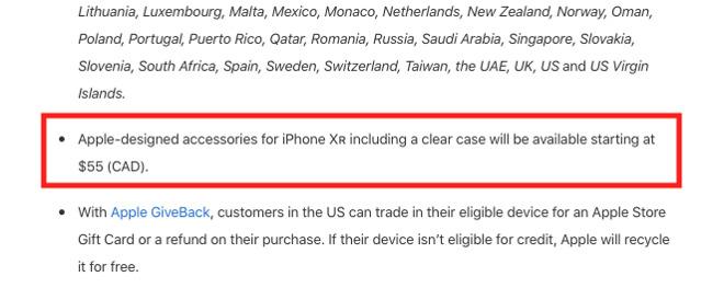 Con iPhone XR arriverà una cover Apple trasparente