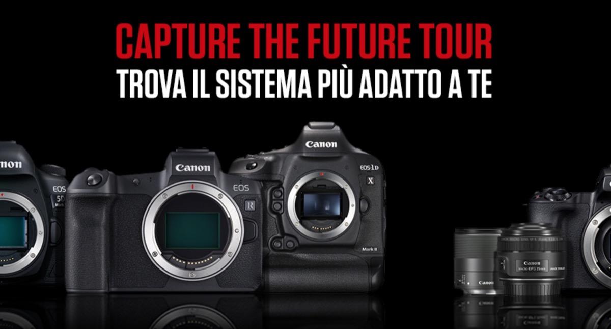 Canon, un tour da Catania a Milano per scoprire il sistema EOS R