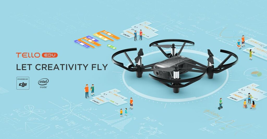 Tello EDU: il drone programmabile disponibile nei negozi Apple e DJI