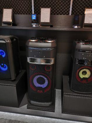 CES 2019, la nuova gamma audio Xboom di LG