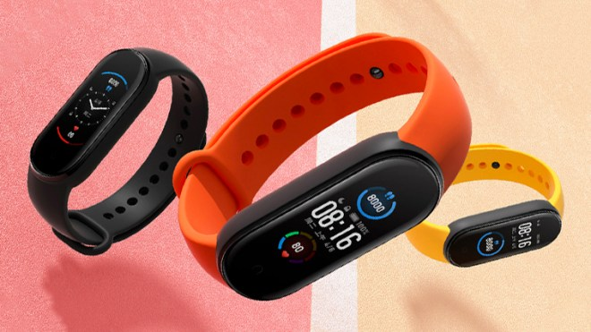 Xiami Mi Band 5 available in presale, on offer at 36.32 euros