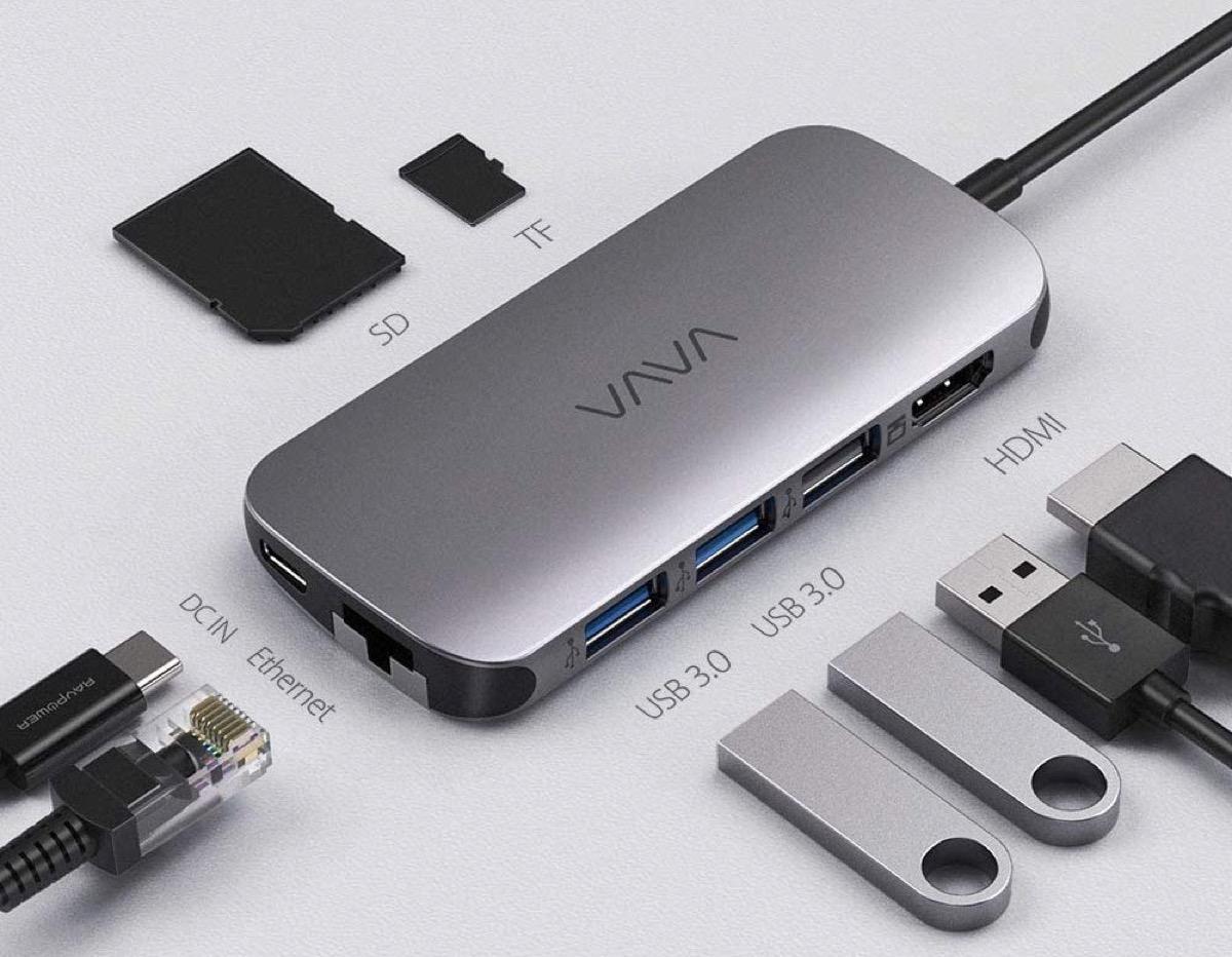 Vava UC006. l'hub USB-C da 65 W con 8 funzioni in 1: a 39.99 euro spedito ancora per poco - Macitynet.it
