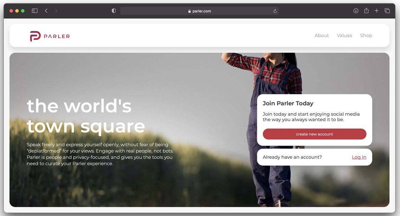 """Apple ha rimosso dall'App Store l'app Parler, il Twitter """"senza censure"""""""