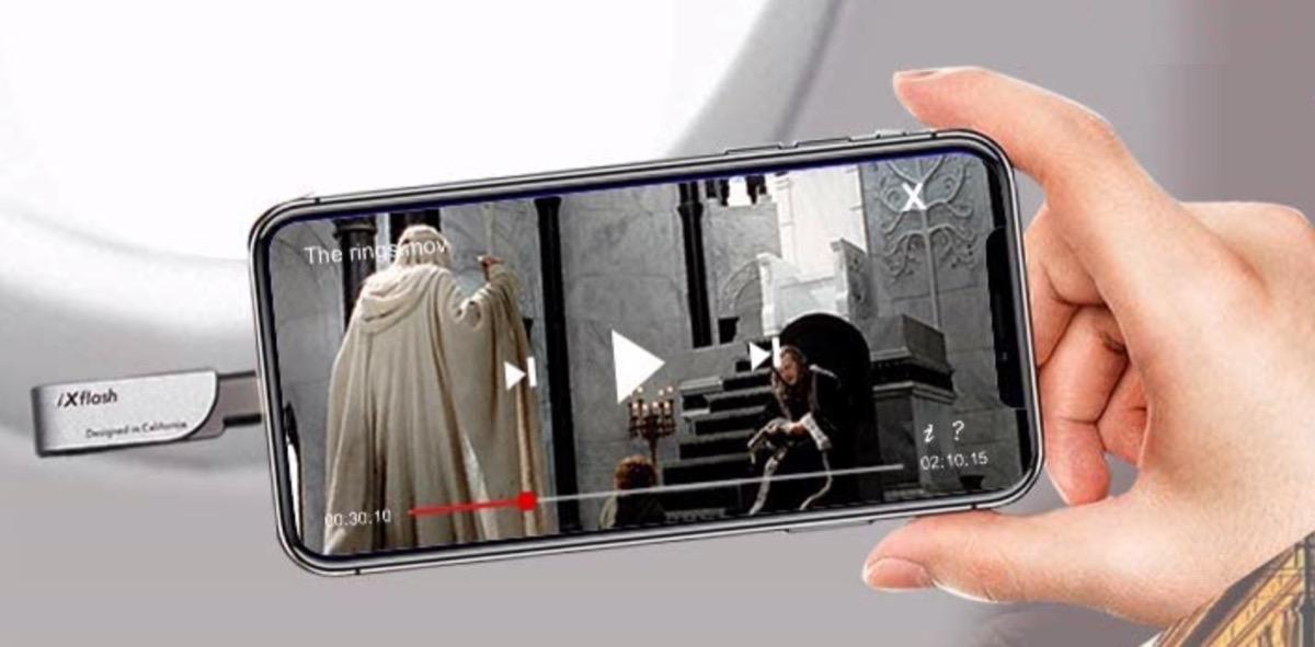 Piodata iXflash, la chiavetta USB-Lightning per iPhone e iPad al CES 2021