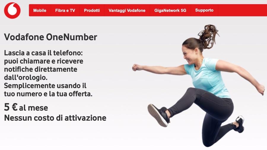 Vodafone avvisa gli utenti per l'aggiornamento di Apple Watch Cellular