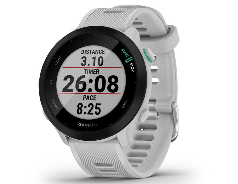 Garmin Forerunner 55 est la montre intelligente pour ceux qui aiment courir