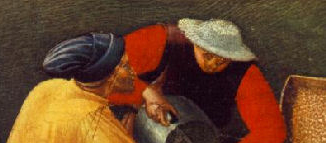 Men working at the dock, 1437