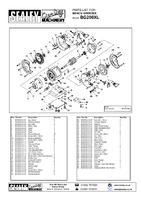Sealey BG200XL Bench Grinder 200mm 560w/230v