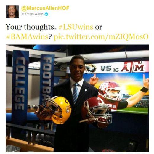 Marcus Allen, Twitter chat, NFL, Verizon, NFL Mobile App