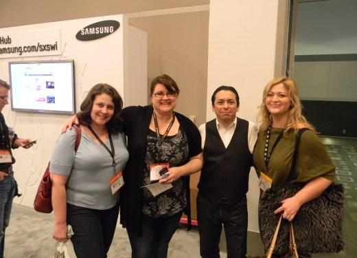 Brian Solis, Shannon Paul, Kellye Crane, Leigh Durst, SXSW, Samsung Blogger's Lounge