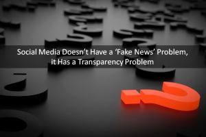 Social Media, Fake News