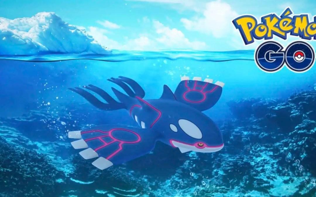 Pokémon GO: Ikväll kommer Kyogre tillbaka i en timme