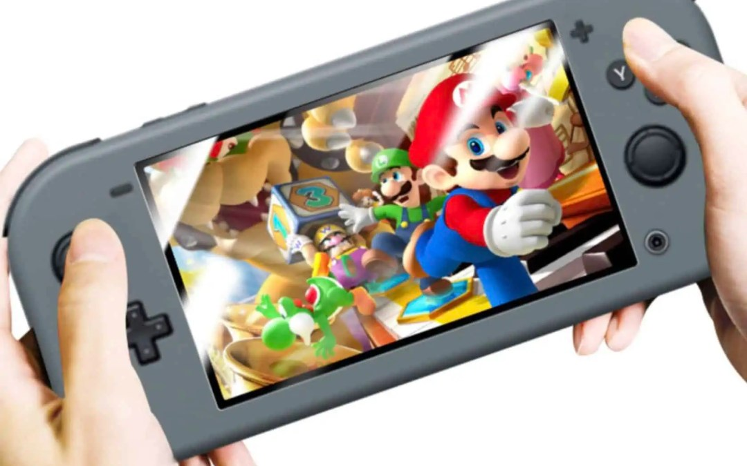 Nej, detta är sannolikt inte bilder på nya Nintendo Switch Mini