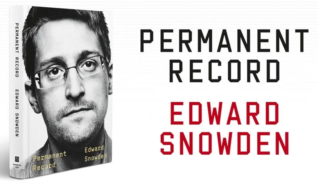 Macken har läst: Permanent Record av Edward Snowden