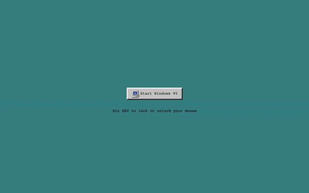 Nu kan du köra Windows 95 i din Mac
