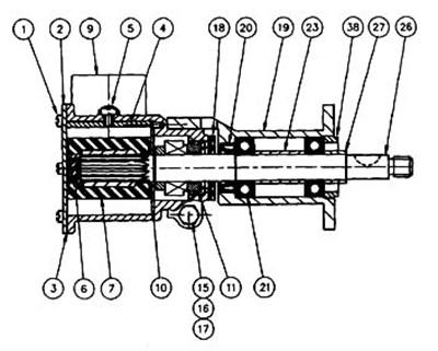 22220-241 JABSCO ENGINE COOLING PUMP