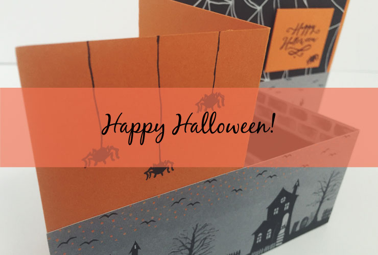 Happy Halloween Z-Fold Card