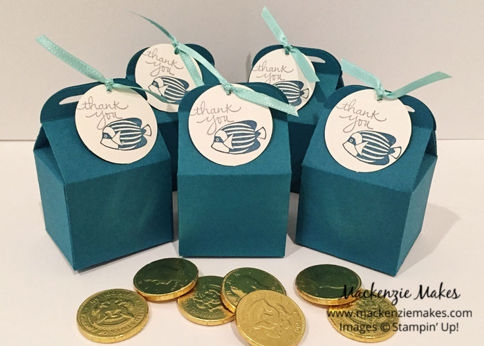 Mermaid Inspired Birthday Party – See how I put together a mermaid inspired birthday party using Stampin' Up! products. | #mackenziemakes #makewithme #stampinup | www.mackenziemakes.com
