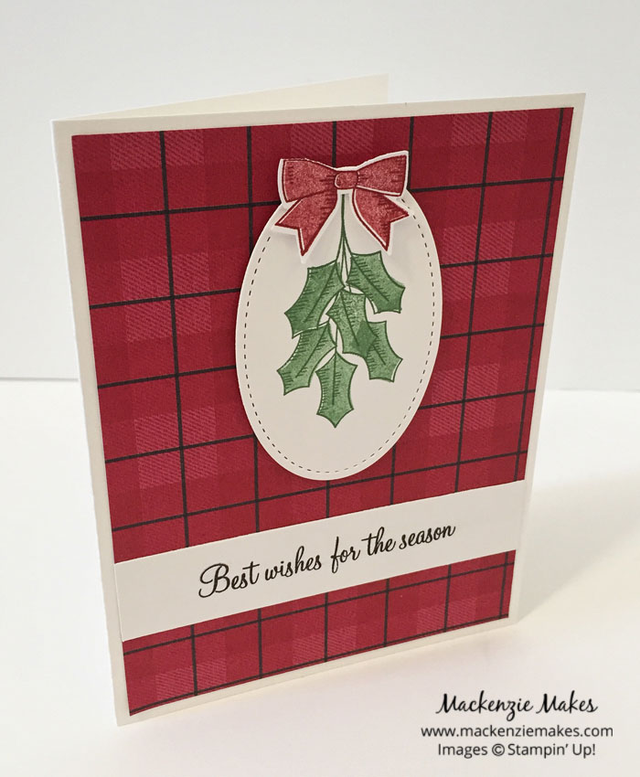 The NEW Stitched Shapes Framelits – See 10 fun Fall and Christmas cards using the new Stitched Shapes Framelits from Stampin' Up! | #mackenziemakes #makewithme #stampinup | www.mackenziemakes.com