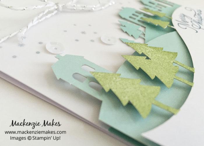 November 2016 Paper Pumpkin - Wonderful Winterland – See some alternate card ideas using the Wonderful Winterland Paper Pumpkin kit. | #mackenziemakes #makewithme #stampinup | www.mackenziemakes.com