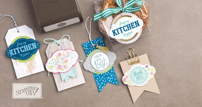 Pretty Label Punch by Stampin' Up!