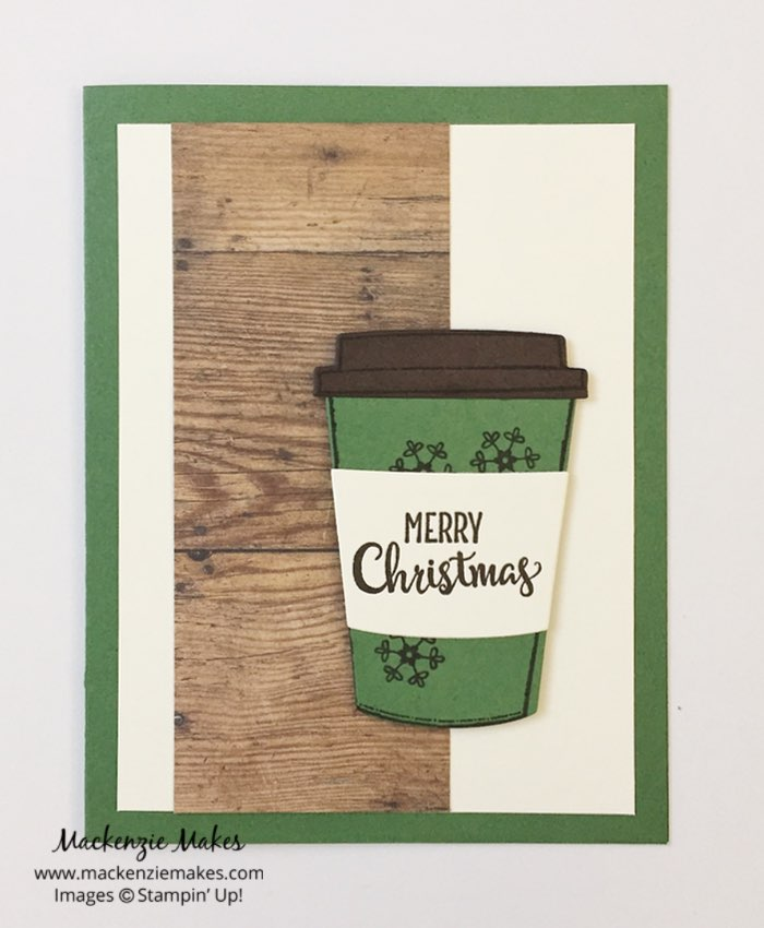 One Sheet Wonder Card Set with Wood Textures DSP Stack – Create 5 cards using 1 sheet of 6x6 paper from the Wood Textures Designer Series Paper stack. Click through to learn how and to get the template design. | #mackenziemakes #makewithme #stampinup | www.mackenziemakes.com