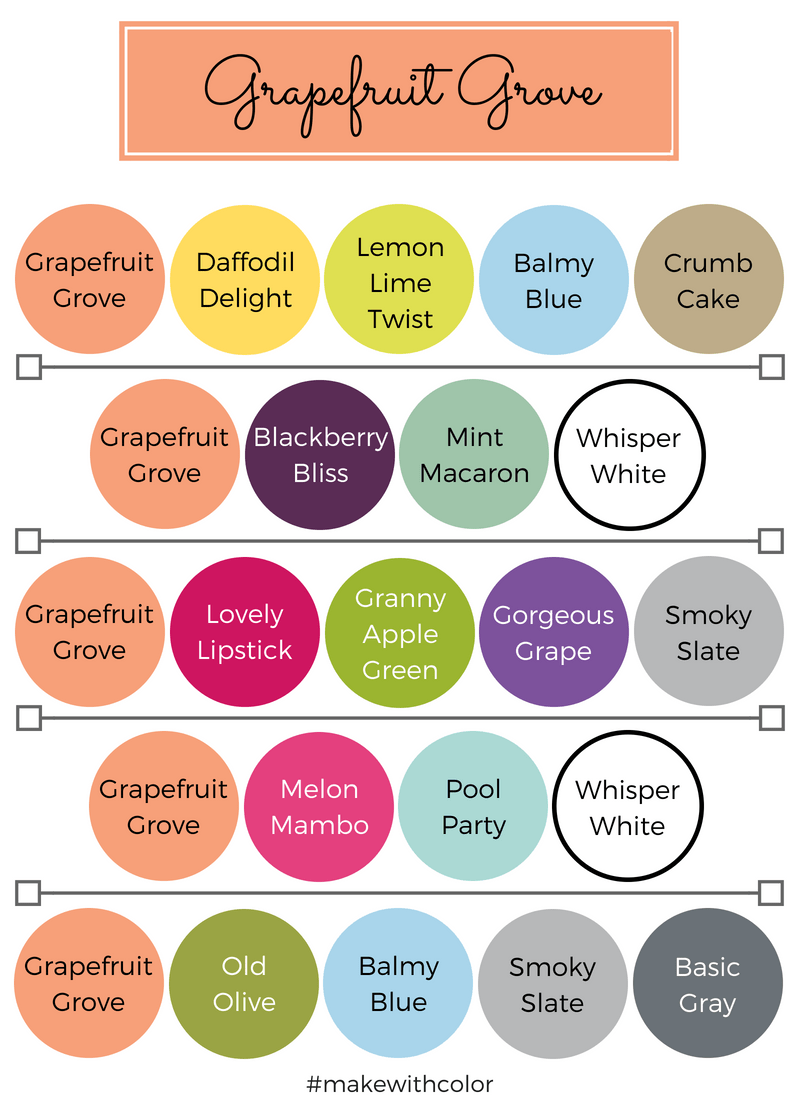 Color Combos Grapefruit Grove