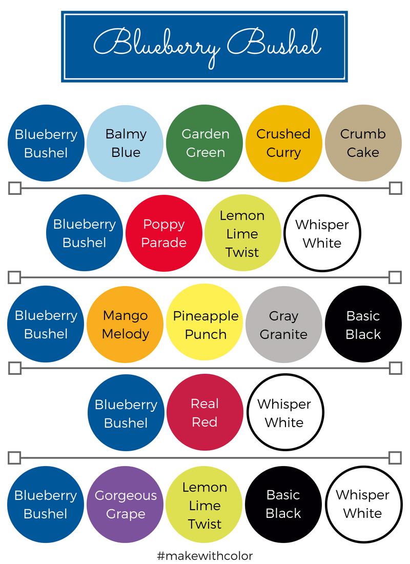 Color Combos Blueberry Bushel