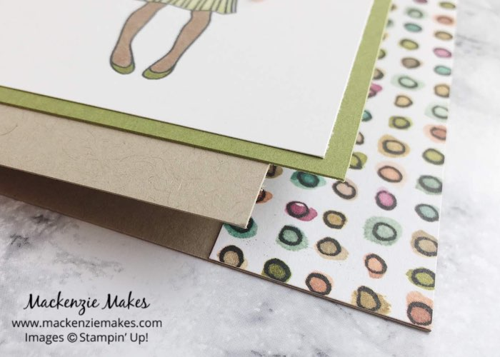 Hand Delivered Swap Cards – Check out the swap cards I made for a team card swap using the Hand Delivered stamp set. Click through to learn more. | #mackenziemakes #makewithDSP #stampinup | www.mackenziemakes.com