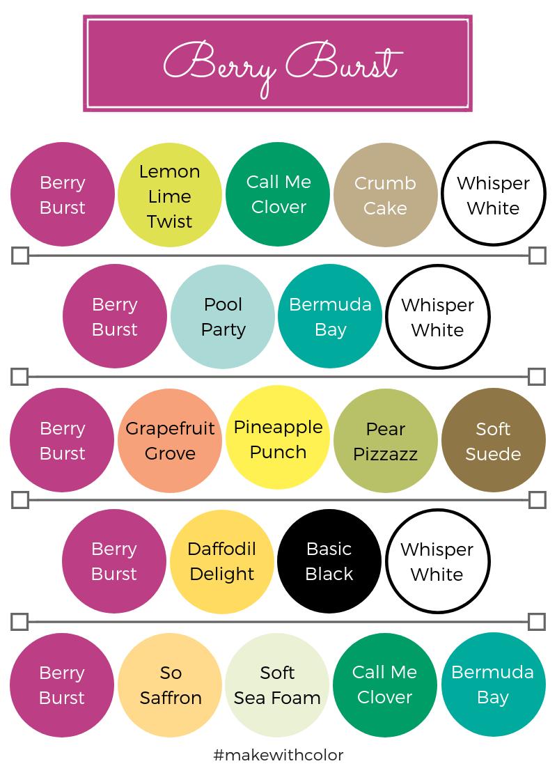 Color Combos Berry Burst
