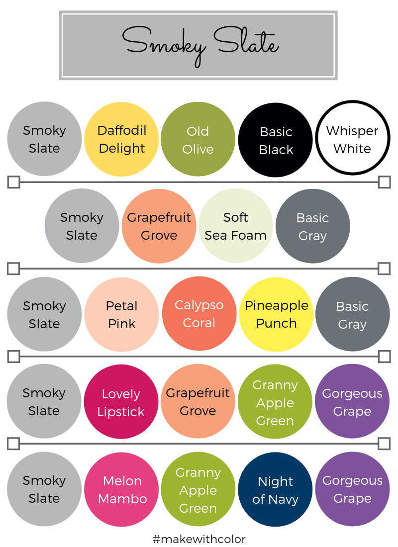 Color Combos Smoky Slate