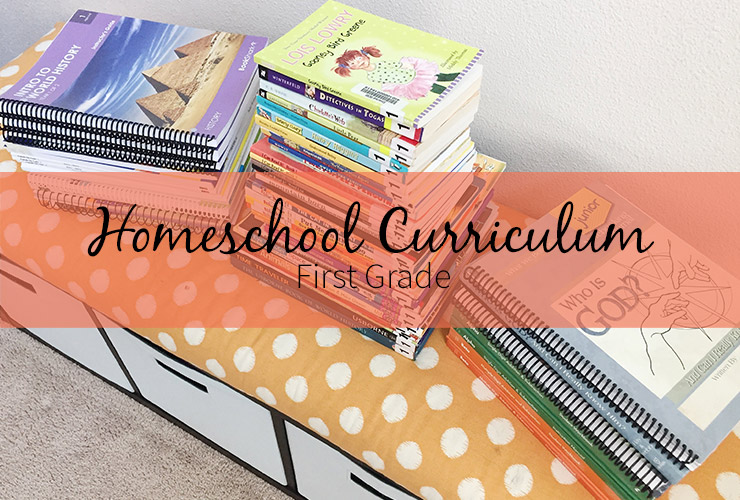 Homeschool Curriculum - First Grade – Click through to see what we are using for our homeschool curriculum this year. | #mackenziemakes #stampinup | www.mackenziemakes.com