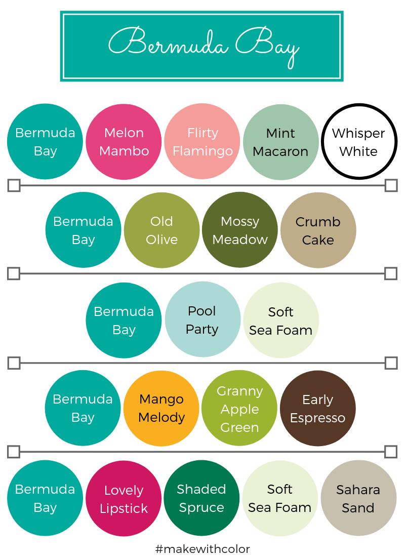 Color Combos Bermuda Bay