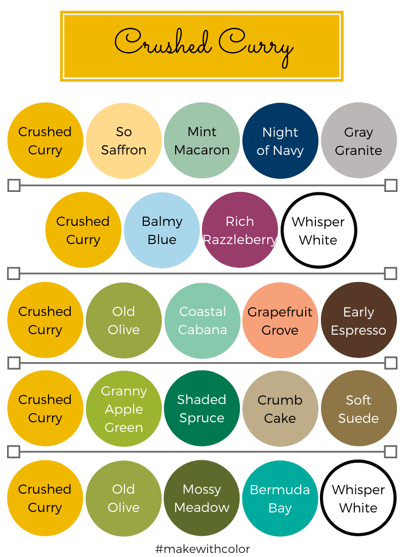 Color Combos Crushed Curry